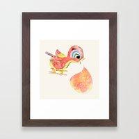 Birdy Framed Art Print