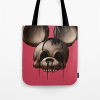 Mickey 1: Chocolate Tote Bag