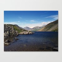 Wast Water Canvas Print