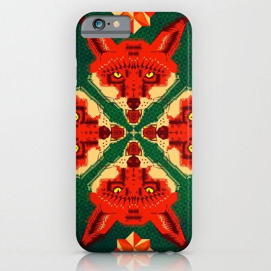 Fox Cross geometric pattern iPhone & iPod Case