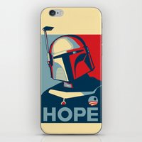 Boba Fett for president  iPhone & iPod Skin
