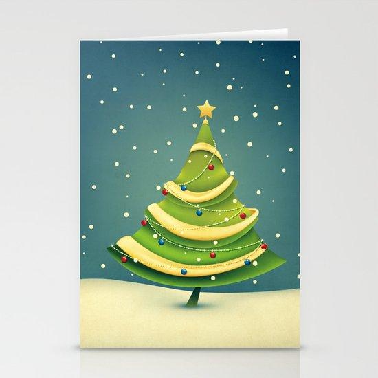 Christmas Tree Stationery Card