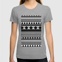 Tribal #5 Womens Fitted Tee Tri-Grey SMALL