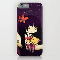 Golden Butterfly Moon iPhone 6 Slim Case