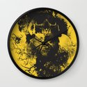 Abstract Thinking Wall Clock