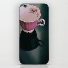 Pink Teacup iPhone & iPod Skin