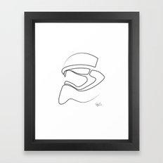 New Trooper Framed Art Print