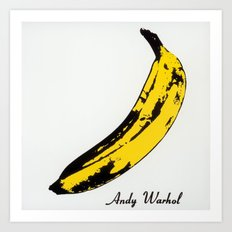 Andy Warhol's Banana Art Print