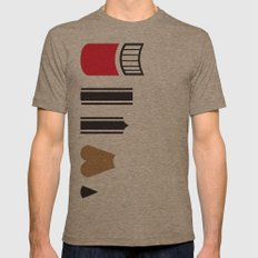 What a pencil looks like Mens Fitted Tee Tri-Coffee SMALL