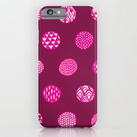 Patterned Dots iPhone 6 Slim Case