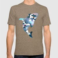 Pattern 7 - Flyin' Blues Mens Fitted Tee Tri-Coffee SMALL