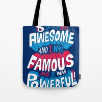 8yrs was Awesome! Tote Bag