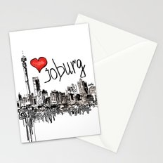 I love Joburg Stationery Cards