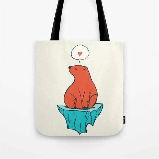 Just Bear Tote Bag