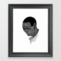 multiculturalism. Framed Art Print