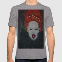 LADY AUDREY VAN DER  HOL… Mens Fitted Tee Athletic Grey SMALL