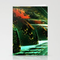 Cannon Battery (Pixel Explosion) Stationery Cards