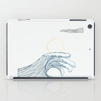 ring of the waves iPad Case