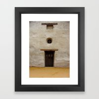 Capistrano Mission Doorw… Framed Art Print