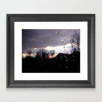 just like raindrops Framed Art Print