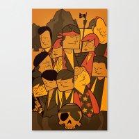 The Goonies (variant Asp… Canvas Print