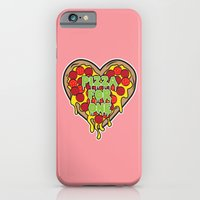 iPhone & iPod Case featuring Pizza For One by sophiedoodle