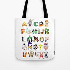 That's Alphabet Folks Tote Bag