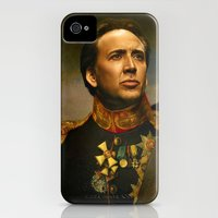 iPhone 4s & iPhone 4 Cases featuring Nicolas Cage - replaceface by replaceface