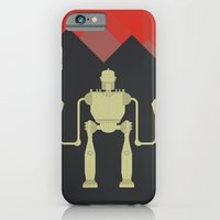 iPhone & iPod Case featuring The Iron Giant  by Stefanoreves