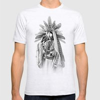 SORCERESS Mens Fitted Tee Ash Grey SMALL