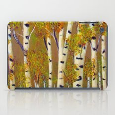 Birch trees-3 iPad Case