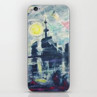 Magical City Evening iPhone & iPod Skin