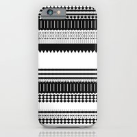 iPhone & iPod Case featuring Graphic_Black&white by Anna Rosa