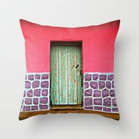 Doorways IV Throw Pillow