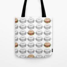 Bagel Sandwich Tote Bag