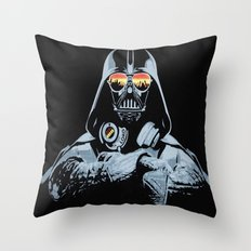 DJ Darth Vader Throw Pillow