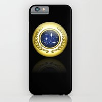 iPhone & iPod Case featuring Star Trek. United Federation Of Planets Logo by CLFFW