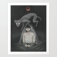 Waning Mercury Art Print