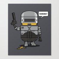 Despicable Law Enforcer Canvas Print