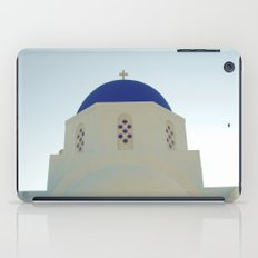Santorini Churches V iPad Case
