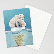 polar ice cream cap 02 Stationery Cards