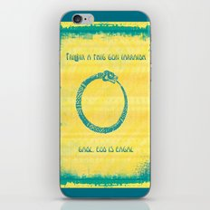 Three that come unbidden – love, jealousy and fear iPhone & iPod Skin