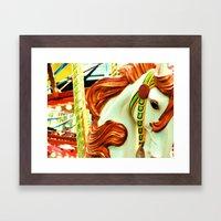 Carousel 2 Framed Art Print