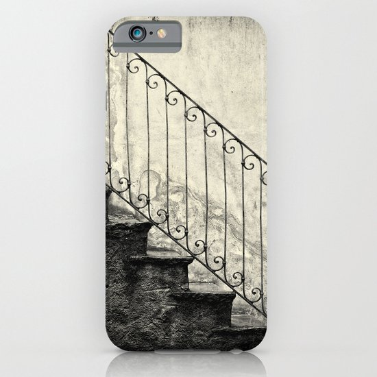 Stairs on a rainy day iPhone & iPod Case