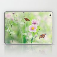 Laptop & iPad Skin featuring In The Garden Of Bliss by Shilpa