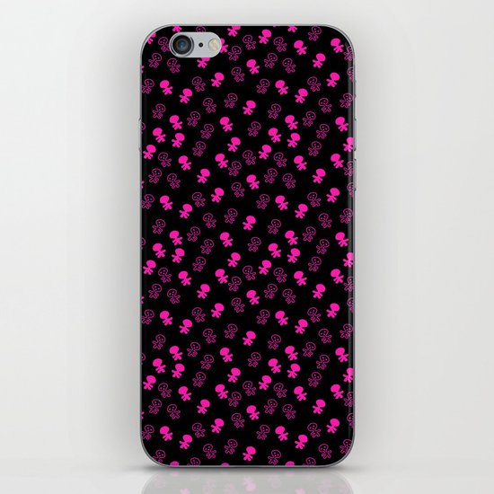 Aliens-Pink iPhone & iPod Skin