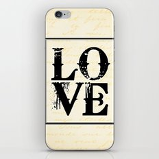 All We Need is Love iPhone & iPod Skin