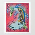 Tha Mighty Tatfish Art Print