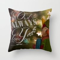 Wise Feelings Throw Pillow