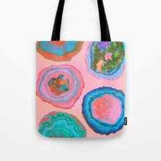 Glowing Geo Tote Bag